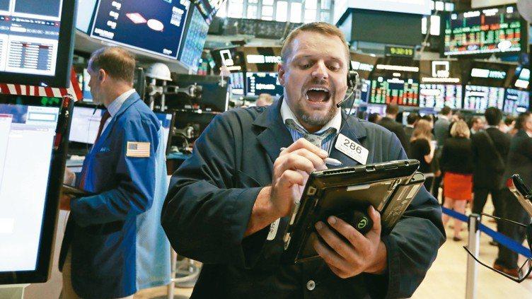 法人表示,基本面護體,挹注美股投資信心。 美聯社
