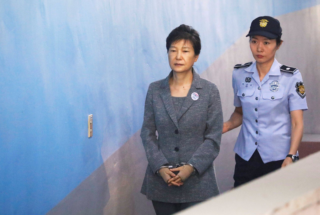 南韓前總統朴槿惠。路透資料照