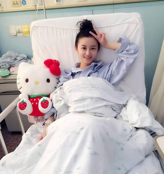 大陸女星徐婷死於淋巴癌。取自台海網