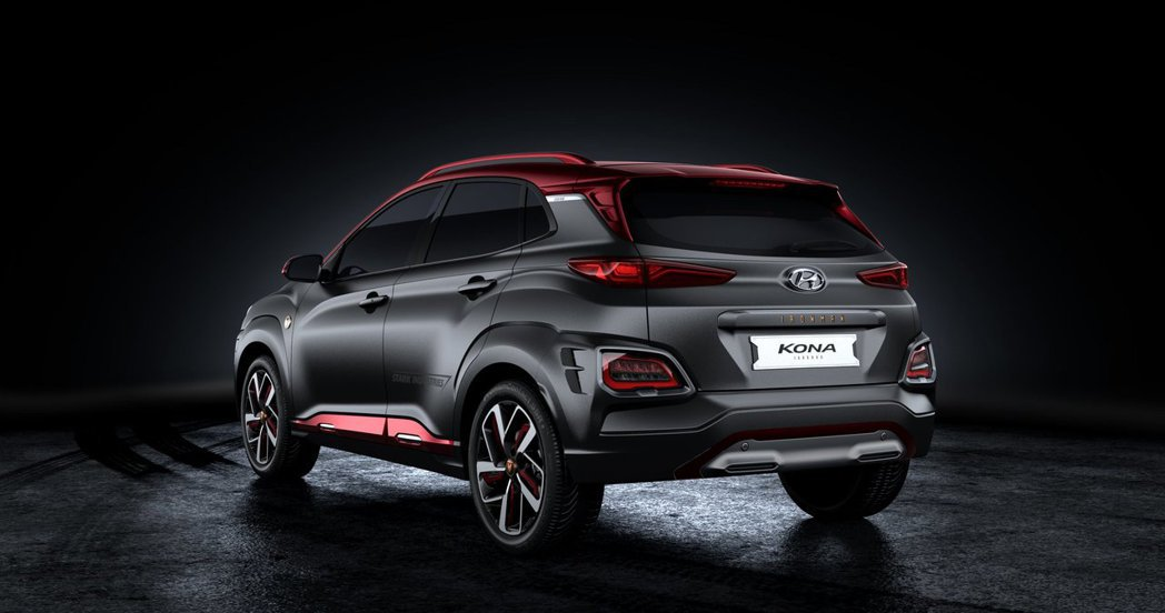 Hyundai Kona Iron Man Edition。 摘自Hyundai