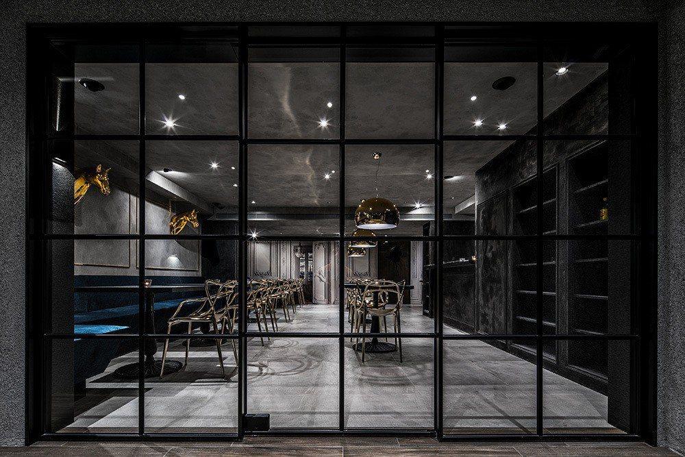 時光倒敘的法式餐廳。圖/雲邑設計提供。