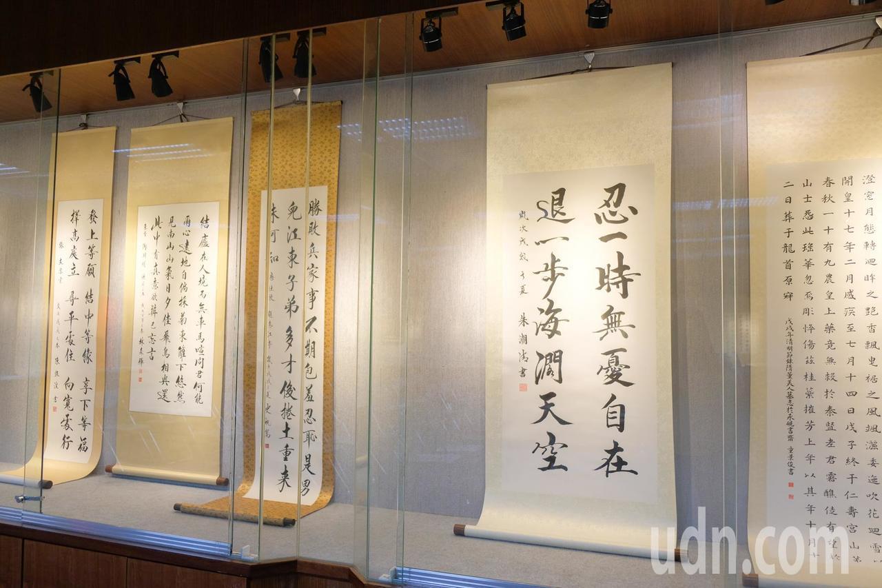 「台灣碑林真蹟名雕刻家林森輝師生碑刻書畫展」從7月18日到8月5日,在新竹縣文化...