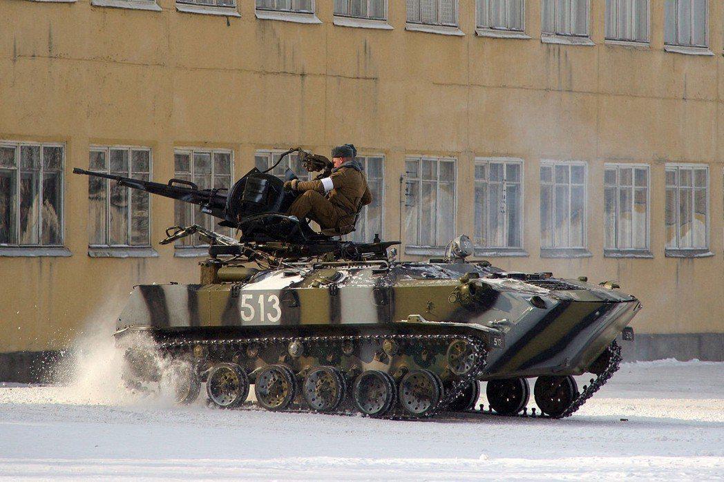 BTR-D坦克車。 圖/取自維基百科
