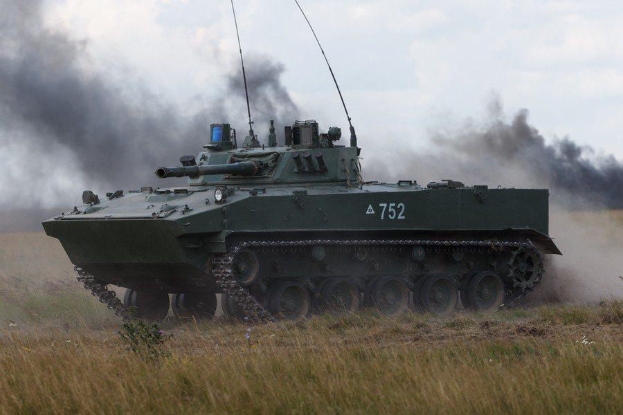 空投載人戰車是俄羅斯獨有的先進技術。 圖/取自俄國防部