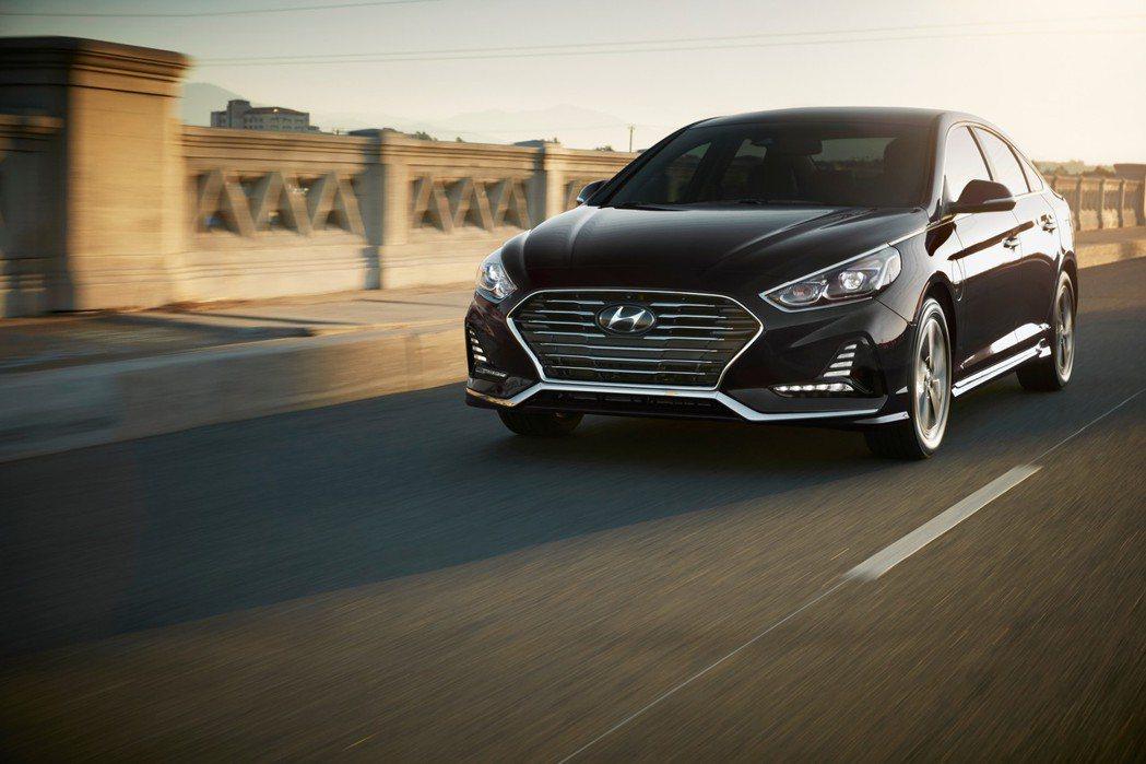 圖為Hyundai Sonata PHEV。 摘自Hyundai