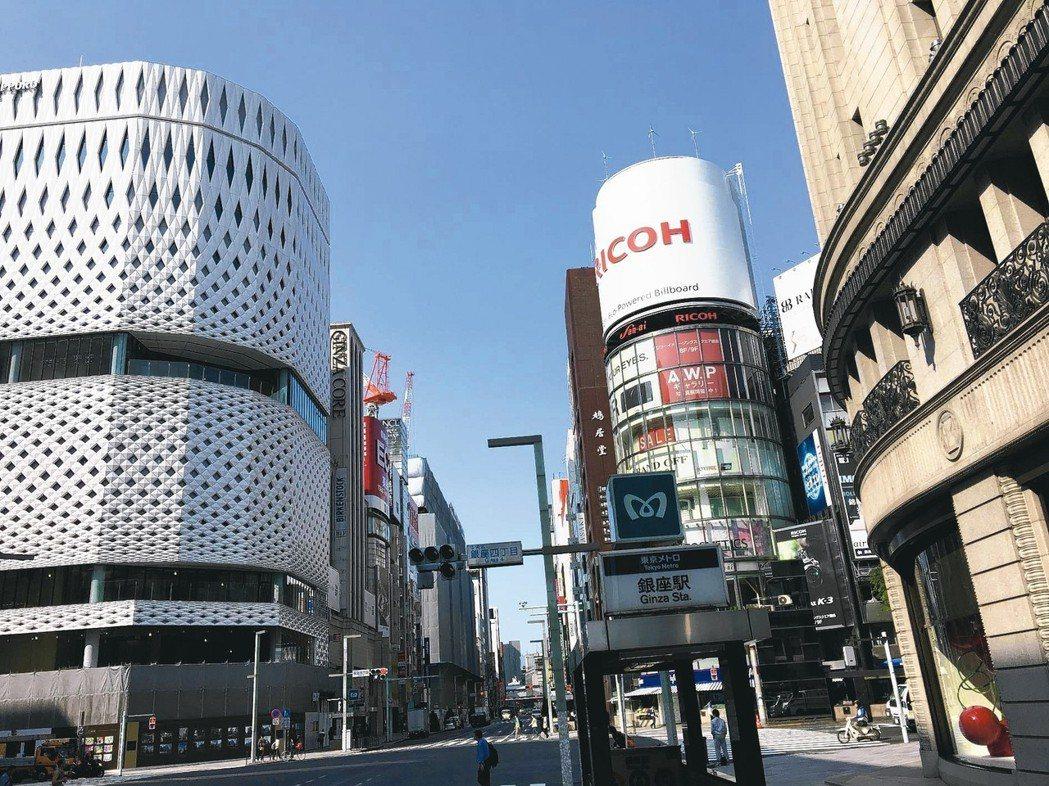 東京銀座。 圖/本葉國際資產管理提供