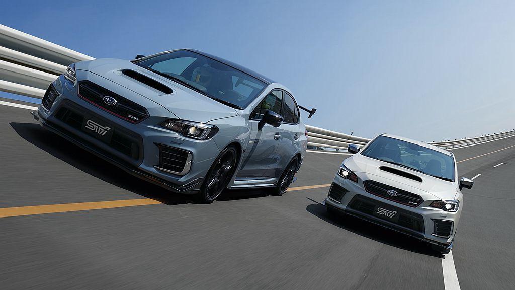 去年東京車展推出的Subaru WRX STI S208 Special Edi...