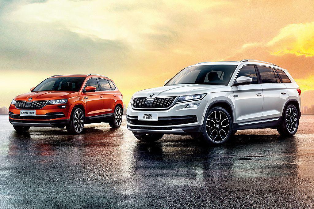 Skoda汽車旗下兩款Kodiaq、Karoq休旅車,今年上半年就替品牌挹注超過...