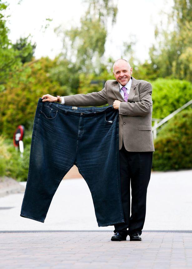 蘭開斯特兩年減掉131公斤。圖/取自網路