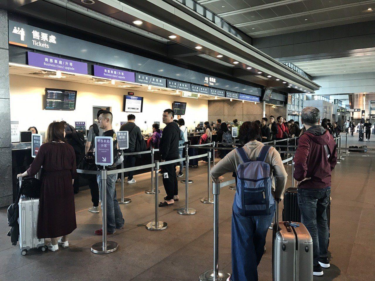 台灣高鐵旅運人次即將跨越5億大關。聯合報系資料照