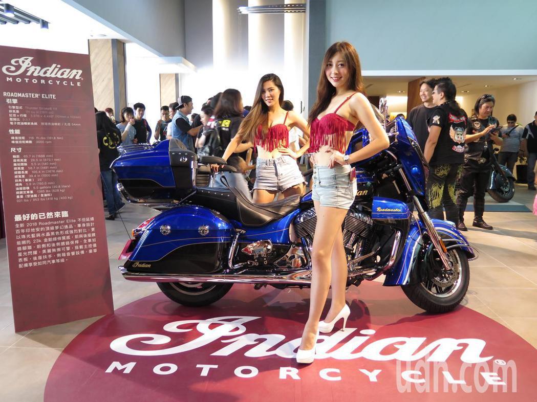 印地安美式重機Indian Motorcycle有重機界勞斯萊斯美名,全台首家經...