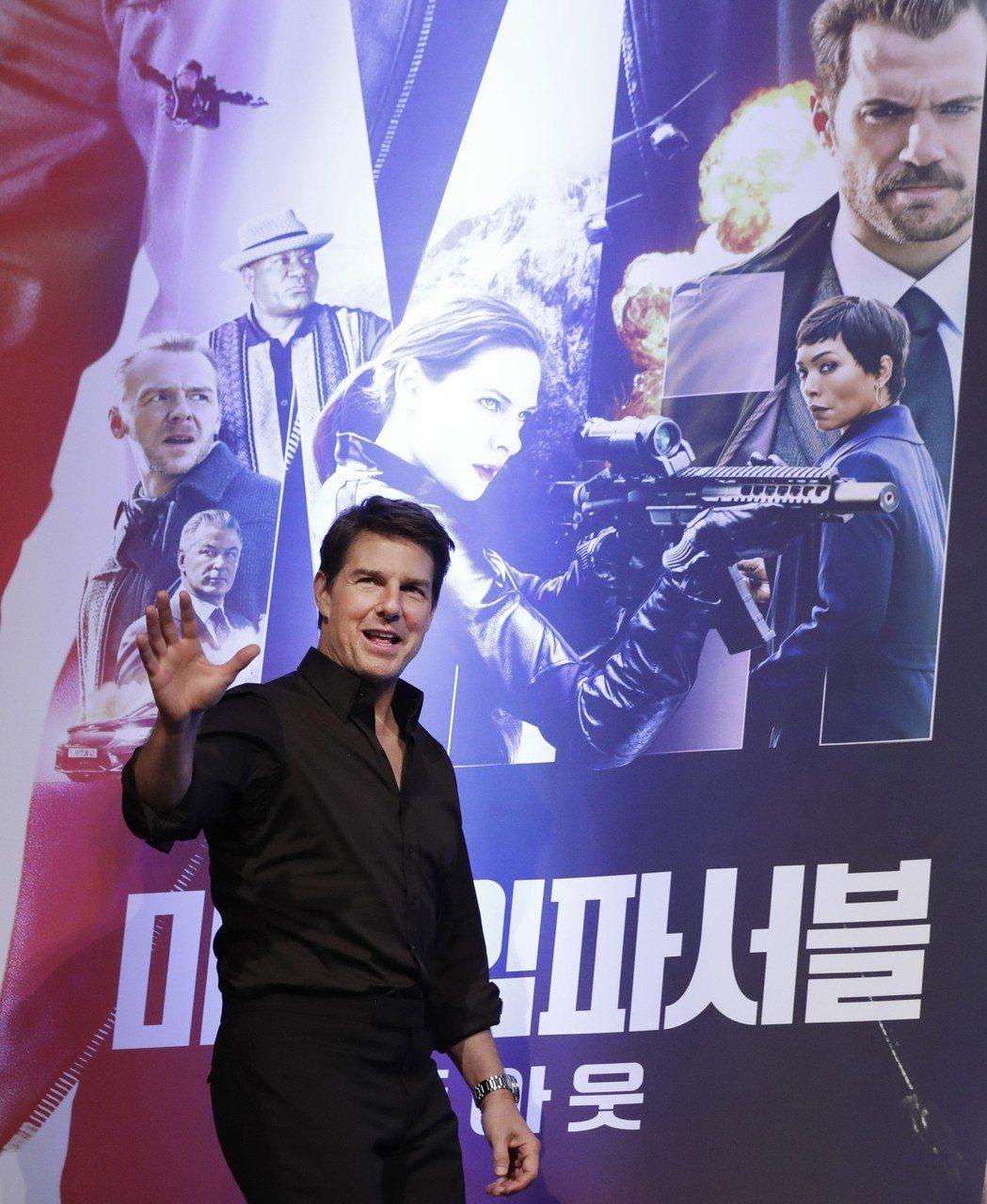湯姆克魯斯將再度扛起「捍衛戰士2」男主角大樑。圖/美聯社資料照片