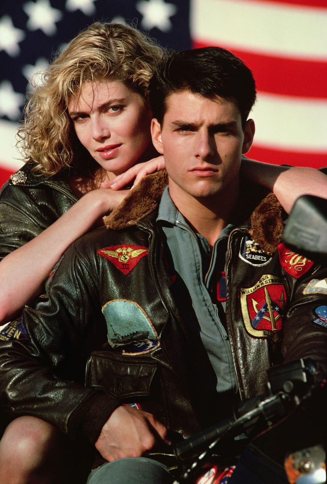 「捍衛戰士」湯姆克魯斯與凱莉麥姬莉絲的搭配掀起票房熱潮。圖/摘自imdb