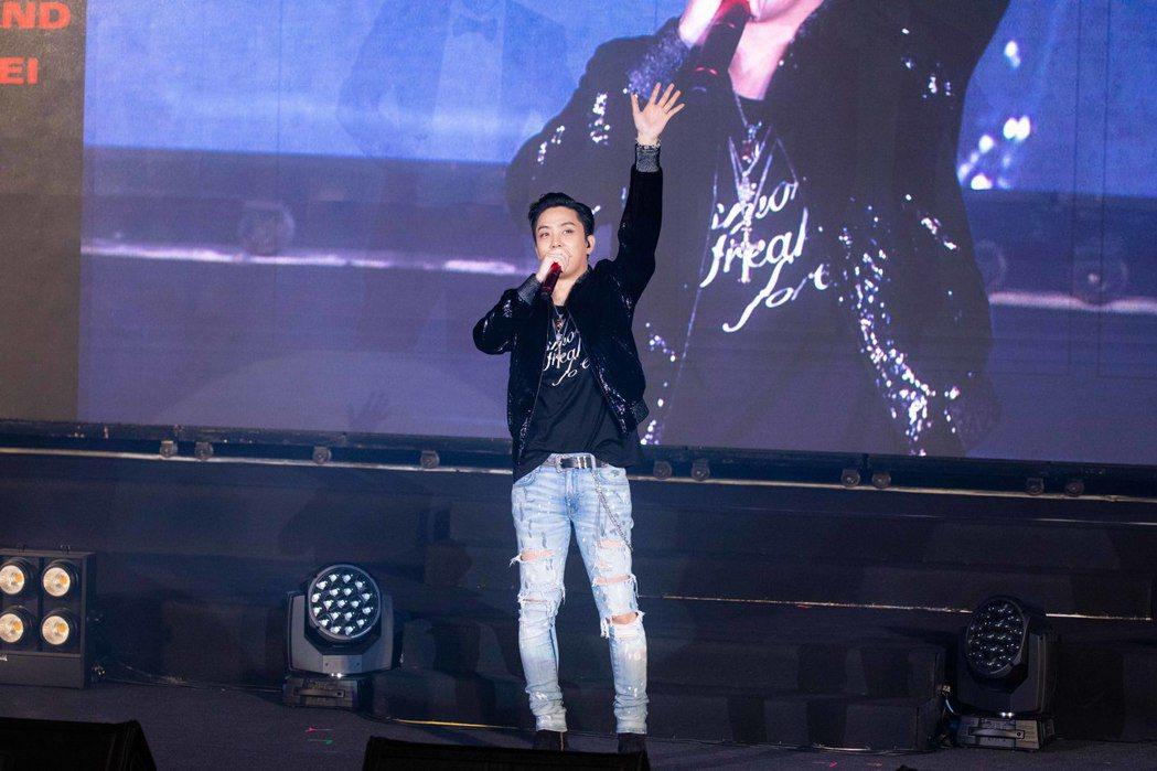 殷志源將首場海外見面會獻給台灣。圖/希林國際提供