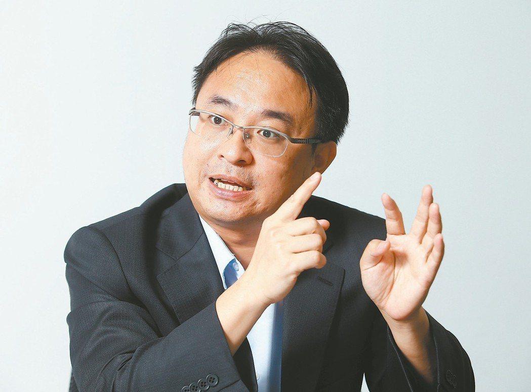 台微醫董事長梁晃千 記者杜建重/攝影