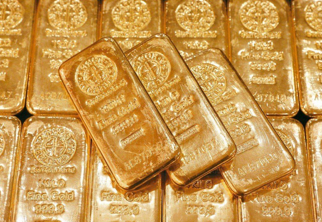 川普抨擊聯準會間接提升黃金的吸引力。 路透