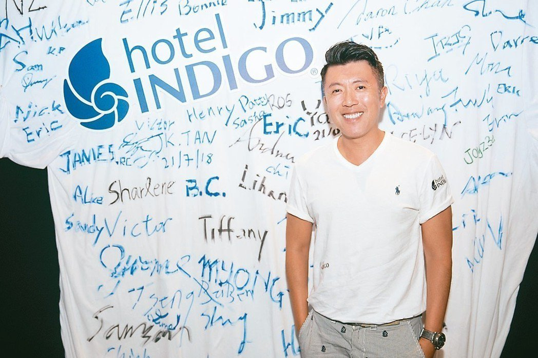 子樂投資總裁詹偉立昨強調,新竹英迪格要給消費者嶄新體驗。 記者韓化宇/攝影