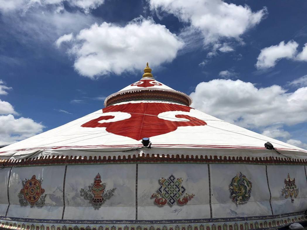 世界紀錄蒙古包的外觀。