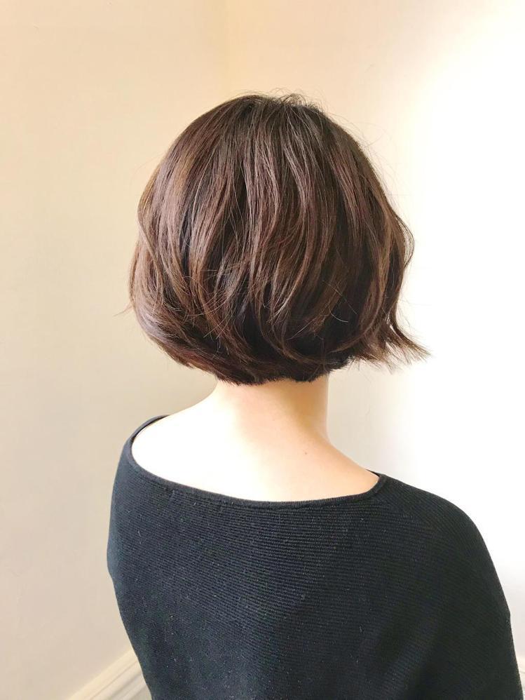 髮型創作/Ian。圖/StyleMap提供