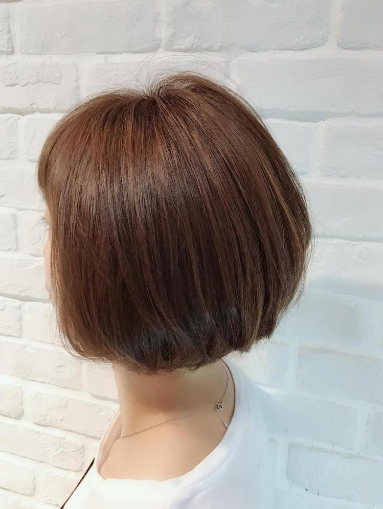 髮型創作/諾亞GIgi 呂姿瑩。圖/StyleMap提供