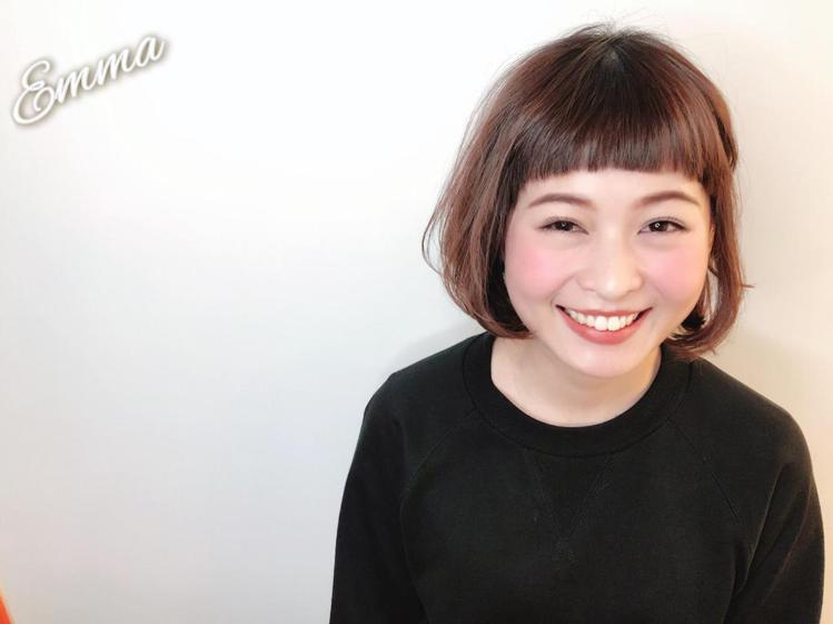 髮型創作/Emma。圖/StyleMap提供