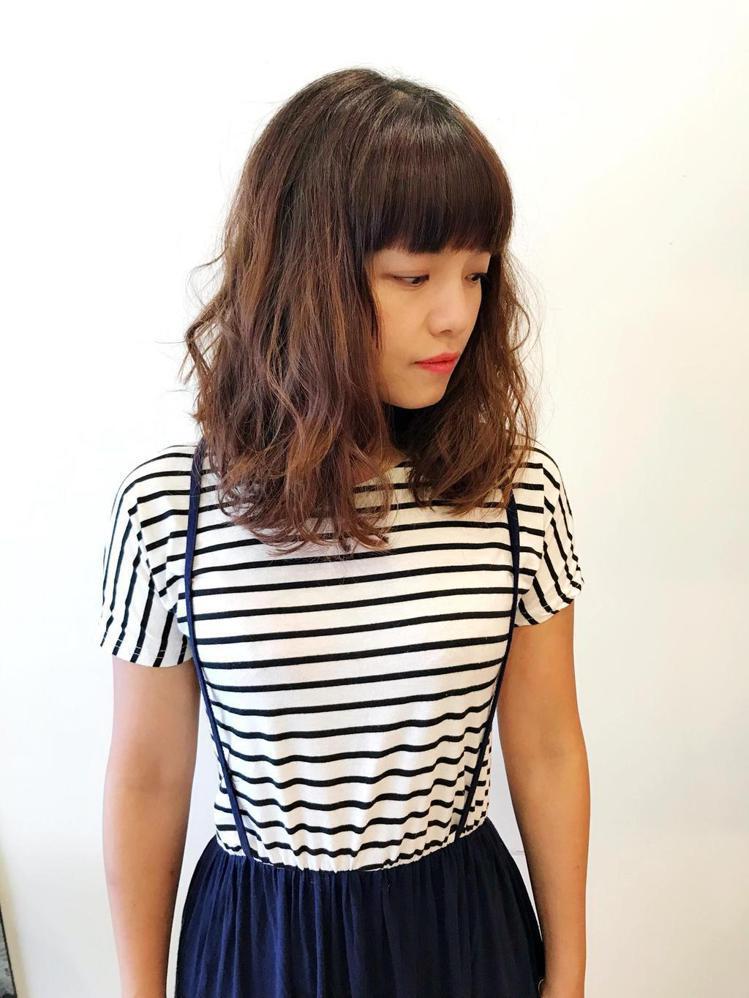 髮型創作/Chen(子茜)。圖/StyleMap提供