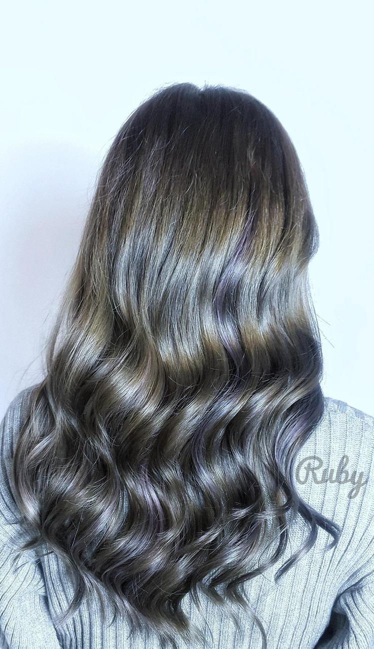 髮型創作/Ruby Chou。圖/StyleMap提供