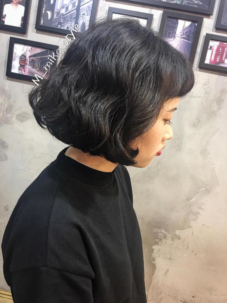 髮型創作/Mika 米卡。圖/StyleMap提供