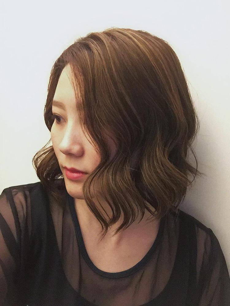 髮型創作/台北東區-Terri。圖/StyleMap提供