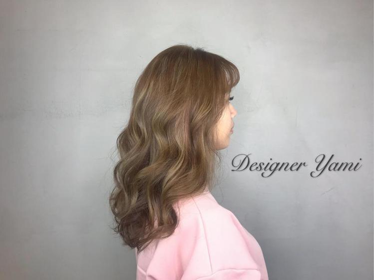髮型創作/Yami Chen。圖/StyleMap提供