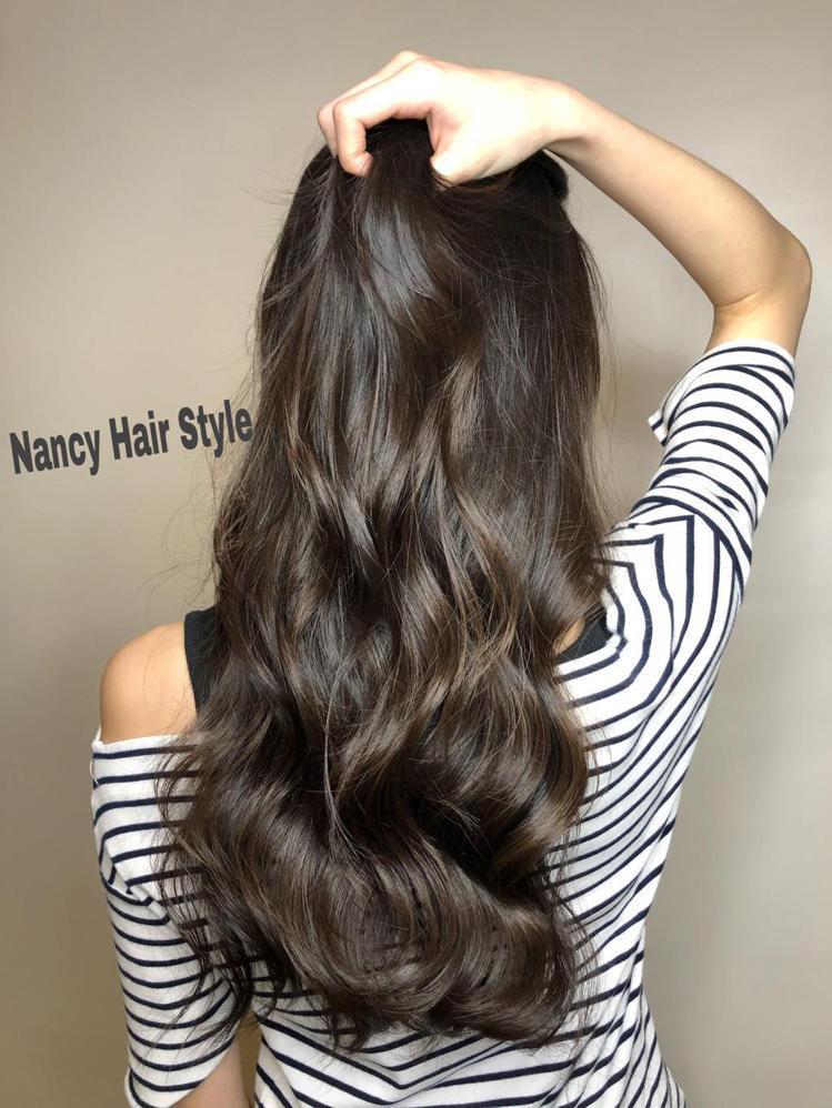 髮型創作/Nancy Chang。圖/StyleMap提供