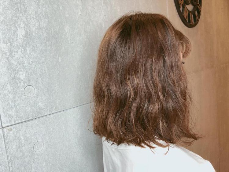 髮型創作/AMberHairdresser。圖/StyleMap提供