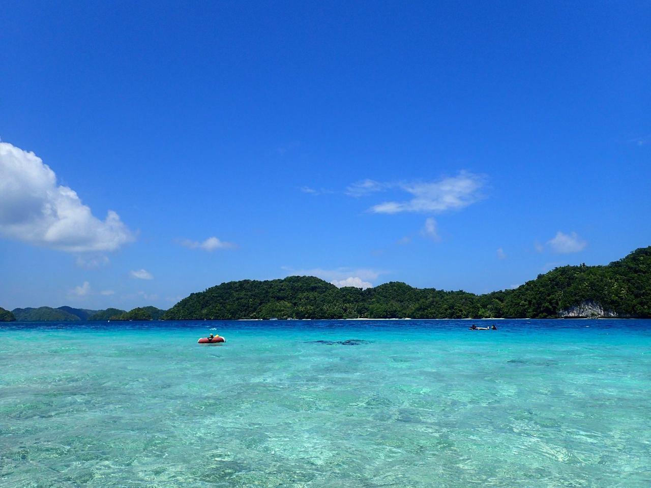 帛琉擁有明媚的海島風光。圖/讀者林小姐提供
