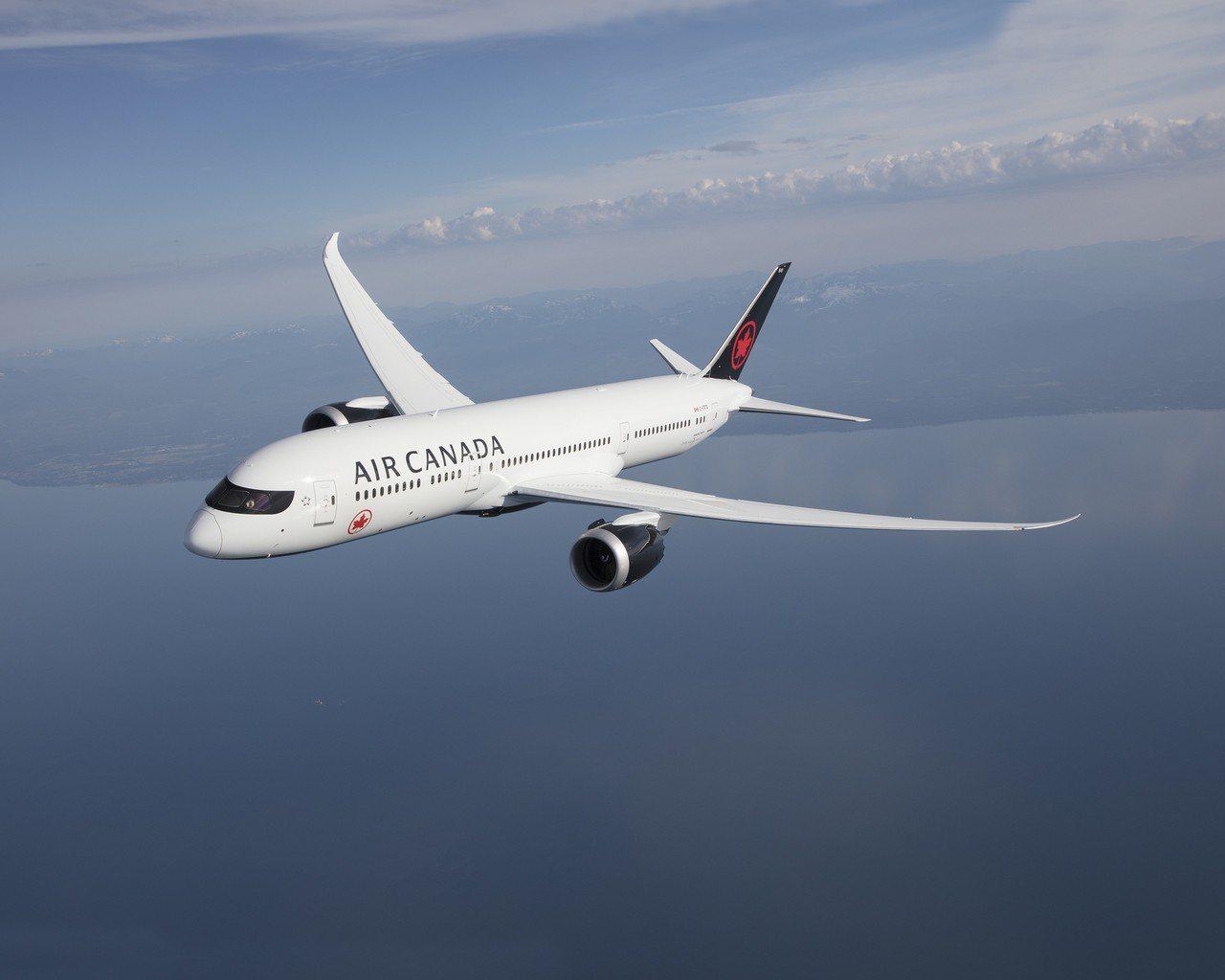加拿大航空今年再度拿下航空界奧斯卡多項大獎。圖/加拿大航空提供