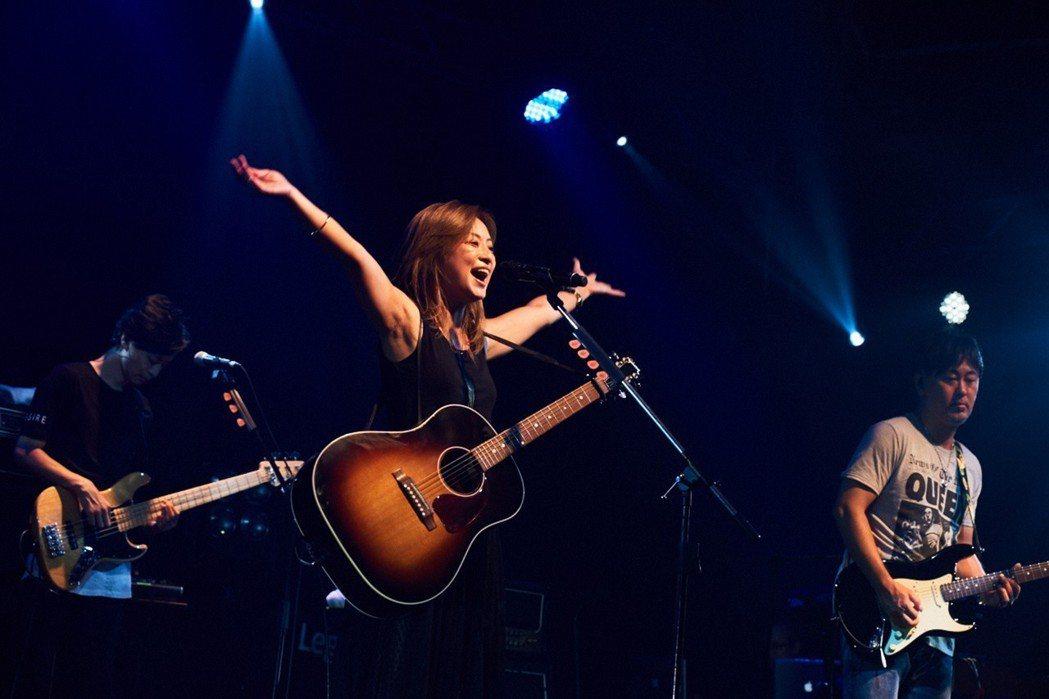 大無限樂團在台灣開唱。圖/愛貝克斯提供