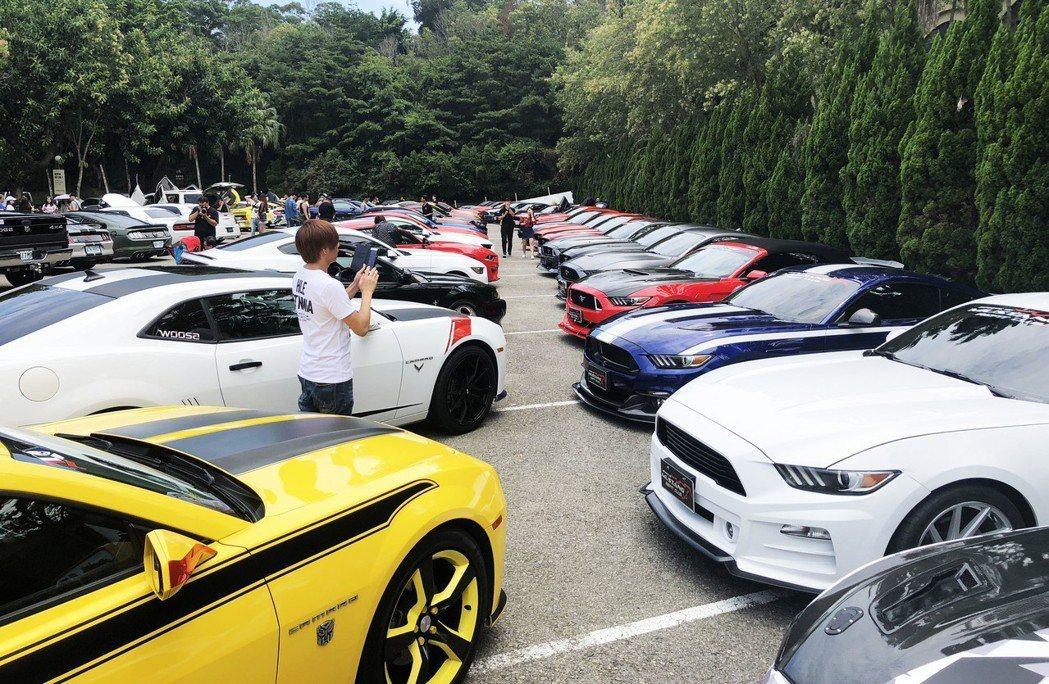 FX POWER車隊與美國肌肉車聯盟TMC聯合舉辦,現場高達100輛改裝車進駐。...