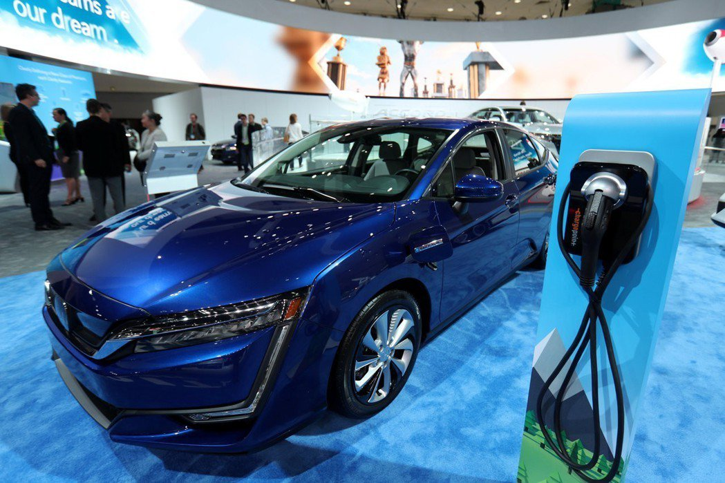 Honda Clarity去(2017)年奪得年度綠色汽車大獎。圖/路透社