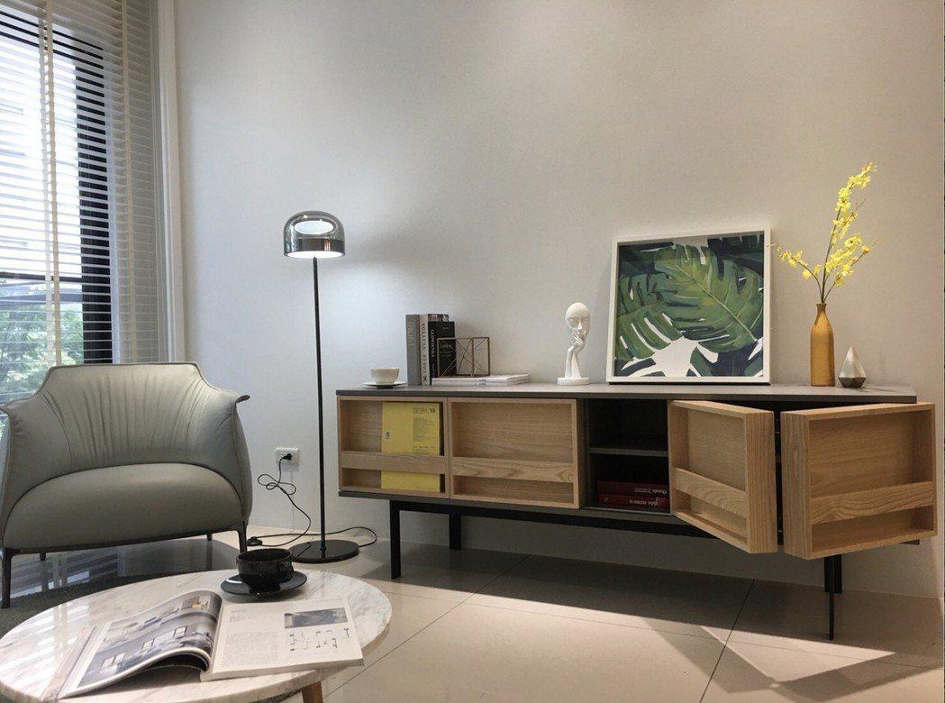 設計師們喜愛大漢家具的客製化家具對居家氛圍營造有畫龍點睛效果。 業者/提供