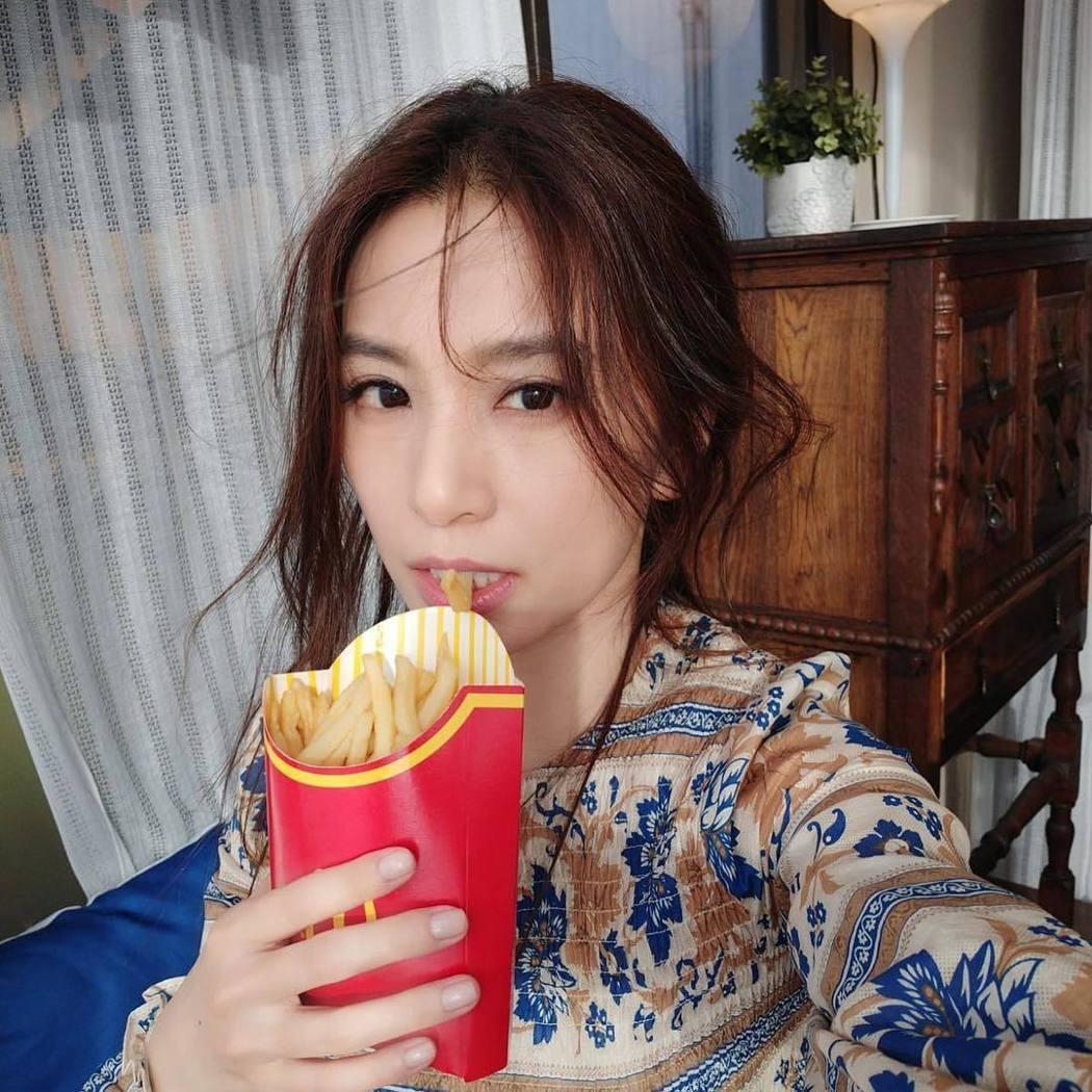 Hebe田馥甄正式開通個人IG帳號。圖/擷自IG