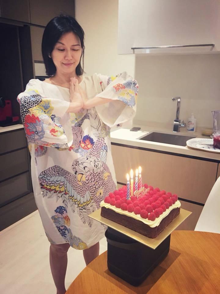 孫燕姿40歲生日。圖/擷自臉書