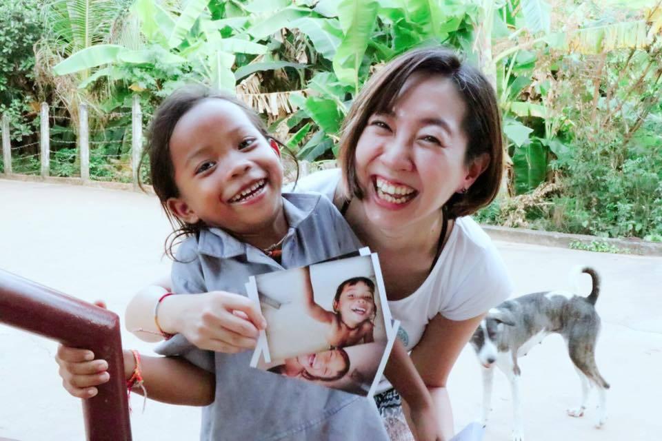 小維與柬埔寨孩子的故事要從8年前說起。圖/張維提供