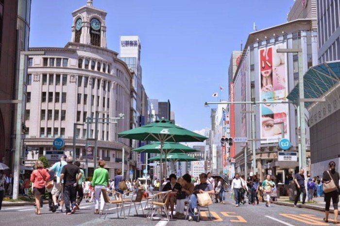 銀座。 圖/matcha-jp.com