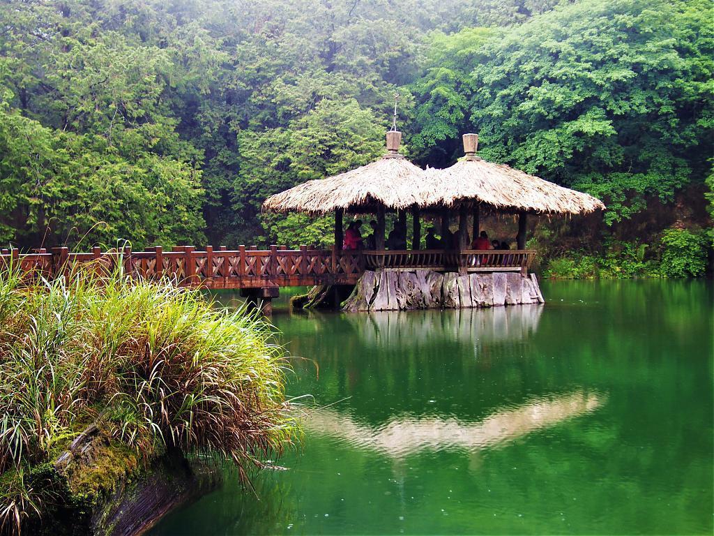 ▲阿里山觀光巴士路線]景點-奮起湖。(圖/Tripbaa趣吧!亞洲自由行專家)