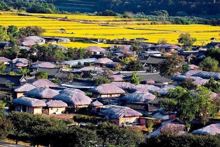 ▲韓國古城親子旅遊景點-安東河回村。(圖/Tripbaa趣吧!亞洲自由行專家)