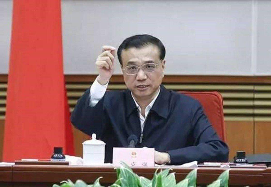 大陸國務院總理李克強。 中國政府網