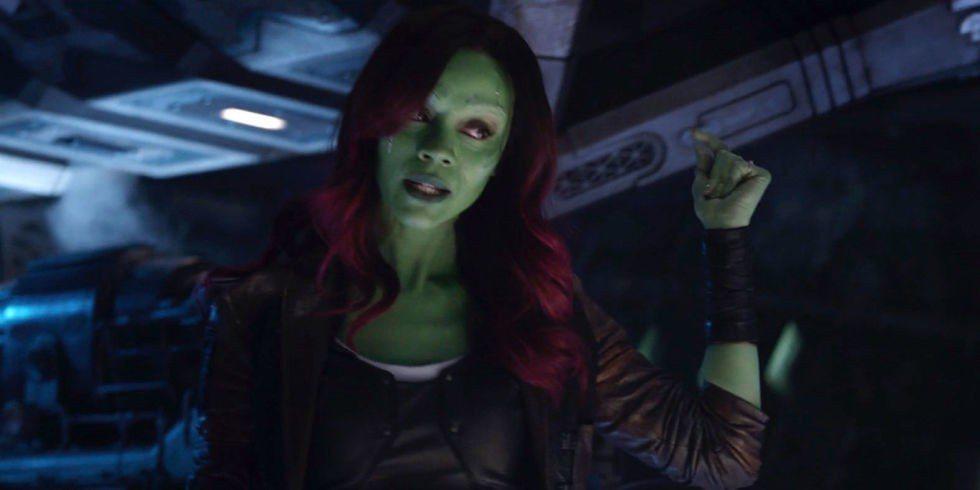 柔伊沙達娜在「星際異攻隊」系列飾演女主角葛摩菈。圖/摘自IG