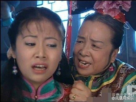 李明啟以「還珠格格」中的反派「容嬤嬤」深得人心。圖/摘自微博