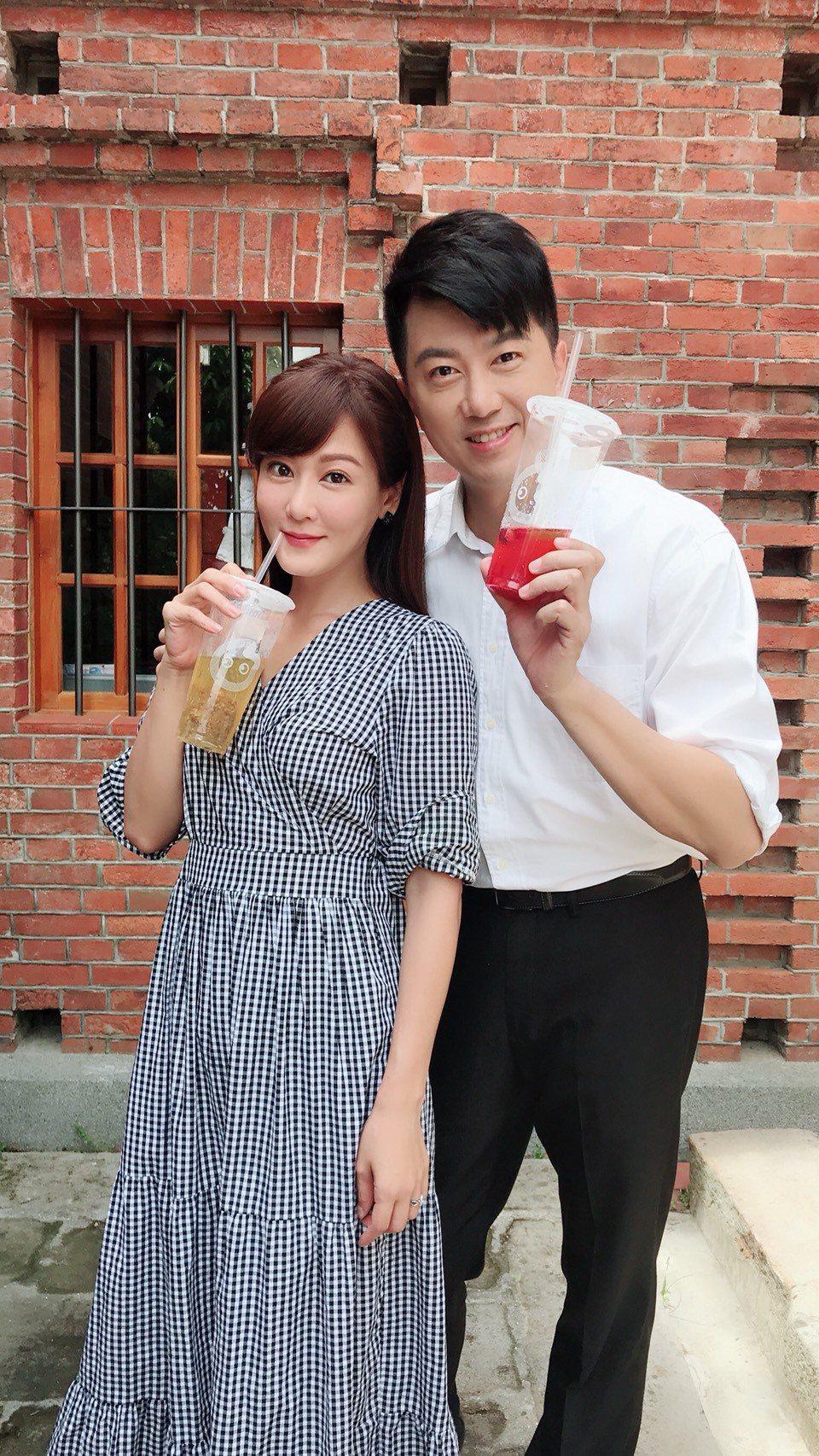 邱琦雯、吳皓昇戲中有段苦戀。圖/民視提供