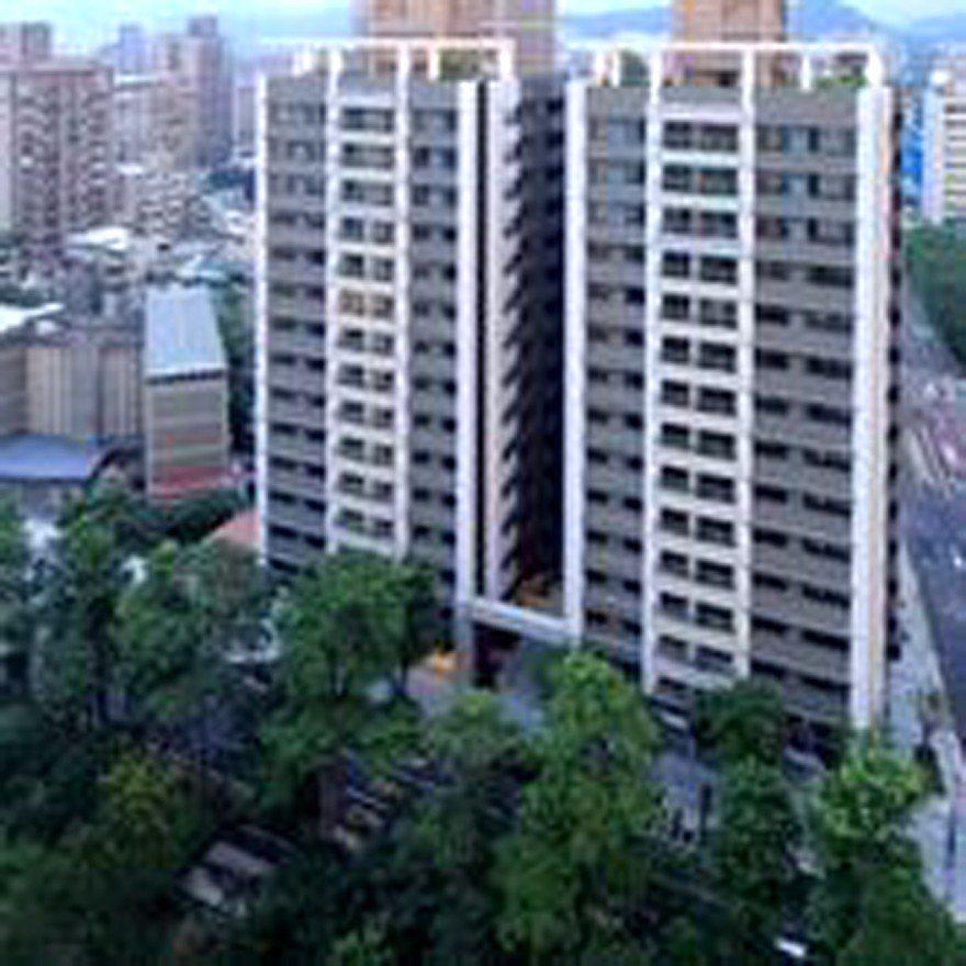 重建後的潤泰雙子星大樓。圖/潤泰創新提供。
