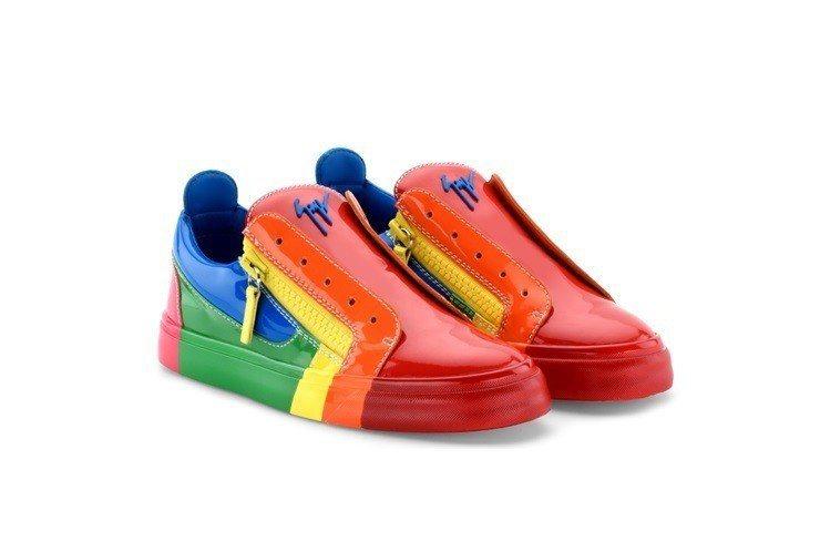 Giuseppe Zanotti「RNBW」低筒運動鞋(女款)。約台幣40,30...